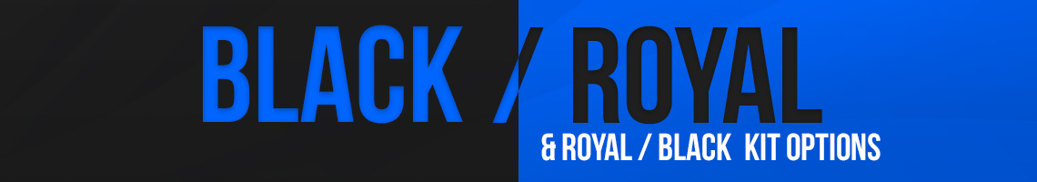Black/Royal Banner